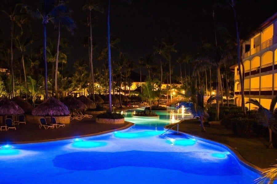 5-Star Resort During The Night